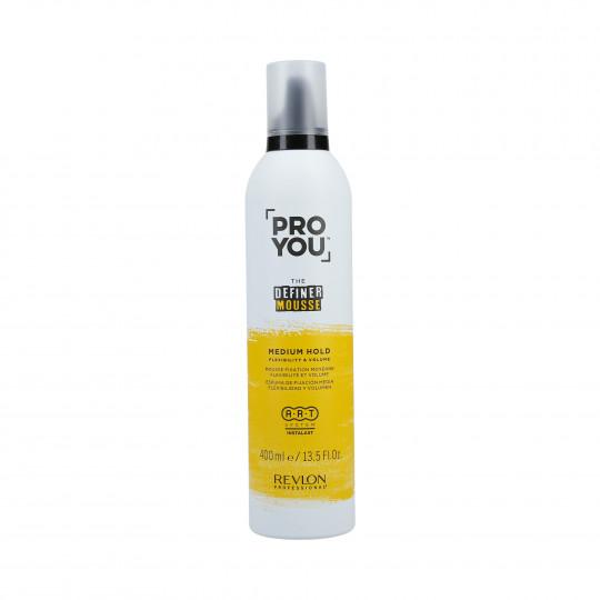 REVLON PROFESSIONAL PROYOU The Definer Espuma para el cabello 400ml