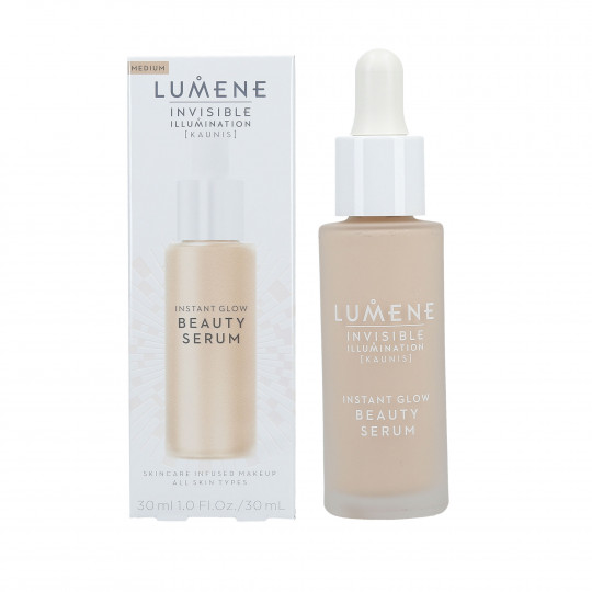 LUMENE INVISIBLE ILLUMINATION Sérum tonificante medio 30ml - 1