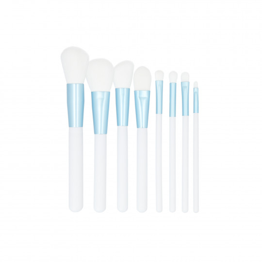 MIMO by Tools For Beauty, Set de 9 Brochas de Maquillaje, Blanco - 1