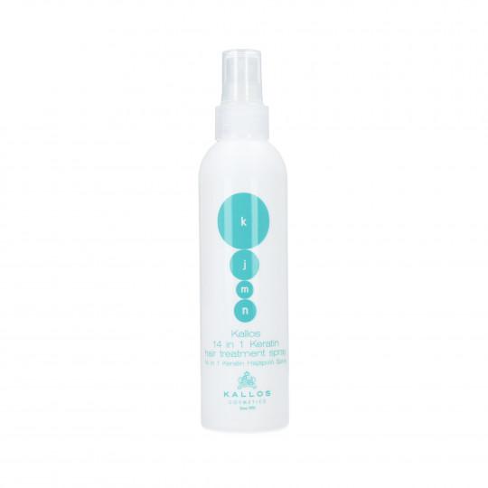 KALLOS Tratamiento queratina en spray 14 en1 200ml - 1