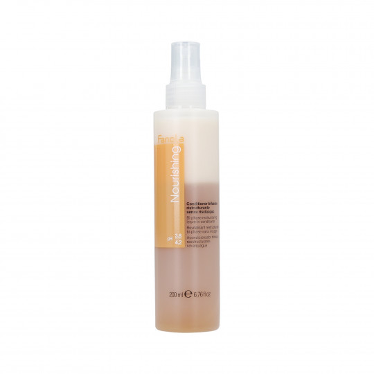FANOLA NOURISHING Acondicionador reestructurante Spray bifásico para cabello 200 ml - 1