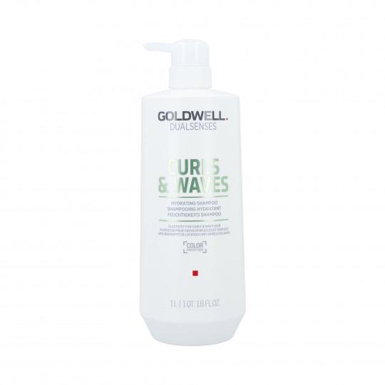 GOLDWELL DUALSENSES CURLS & WAVES Champú hidratante para el cabello 1000ml - 1