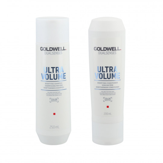 GOLDWELL DUALSENSES ULTRA VOLUME Set champú 250ml + acondicionador 200ml - 1