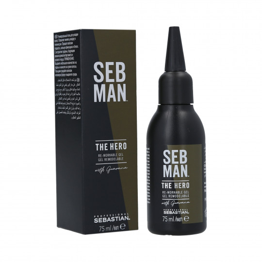 SEBASTIAN SEB MAN The Hero Gel fuerte 75ml - 1