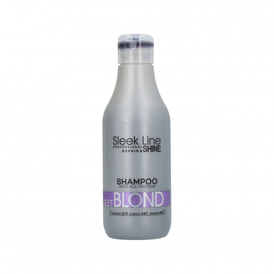 STAPIZ SLEEK LINE VIOLET BLOND Champú neutralizador del color 300ml - 1