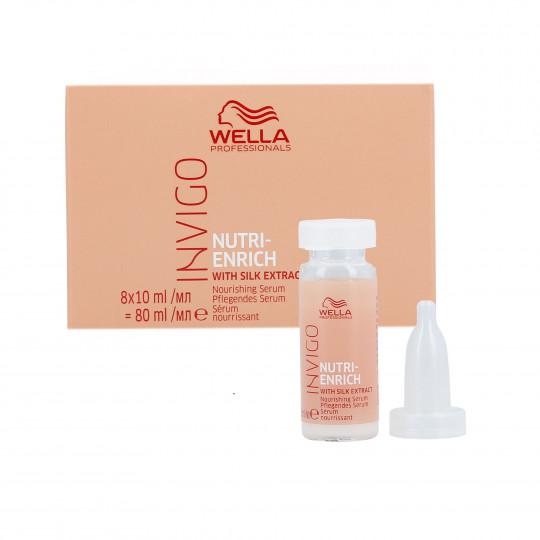 WELLA PROFESSIONALS INVIGO NUTRI-ENRICH Suero para cabello seco 8x10ml - 1