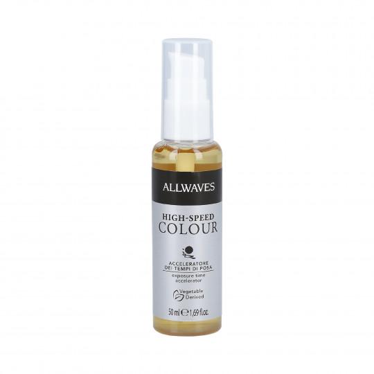 ALLWAVES HIGH SPEED COLOUR Acelerador de coloración ó decoloración del cabello 50ml - 1
