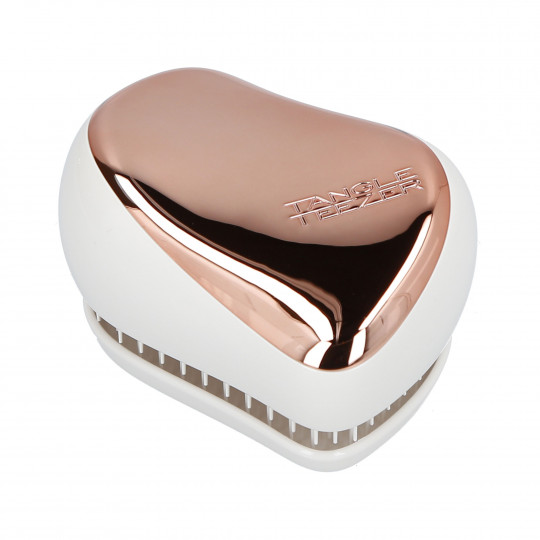 TANGLE TEEZER Compact Styler Rose Gold Cream - 1