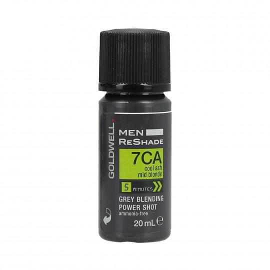 GOLDWELL MEN RESHADE Color semipermanente para hombres 7CA 20ml - 1