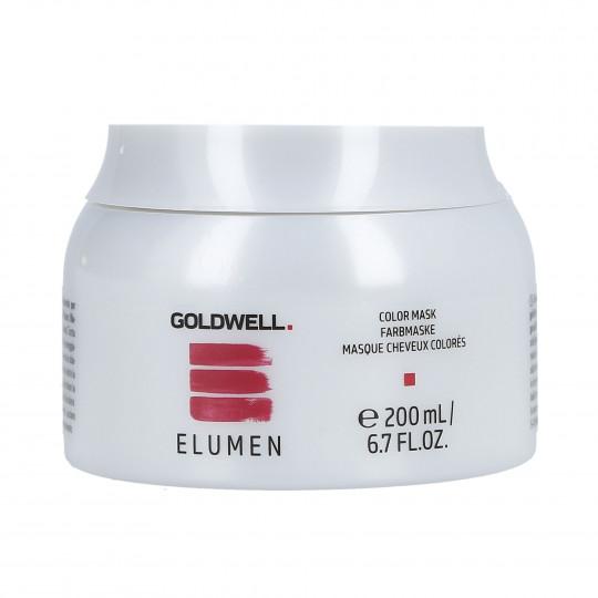 GOLDWELL ELUMEN COLOR Mascarilla regeneradora cabello teñido 200ml - 1