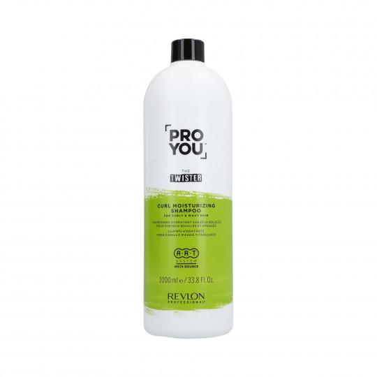 REVLON PROYOU CURL MOISTURIZING Champú hidratante para cabello rizado 1000ml - 1