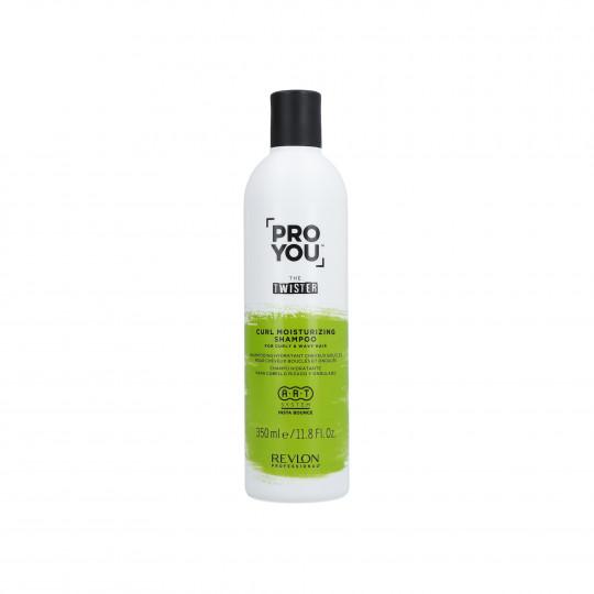 REVLON PROYOU CURL MOISTURIZING Champú hidratante para cabello rizado 350ml - 1