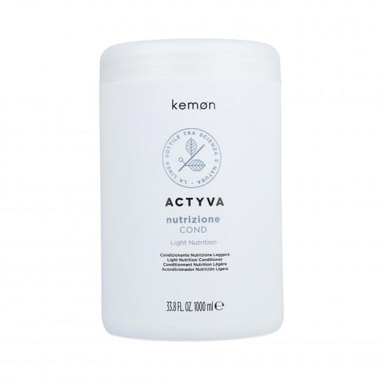 KEMON ACTYVA NUTRITION Acondicionador cabello seco 1000ml - 1