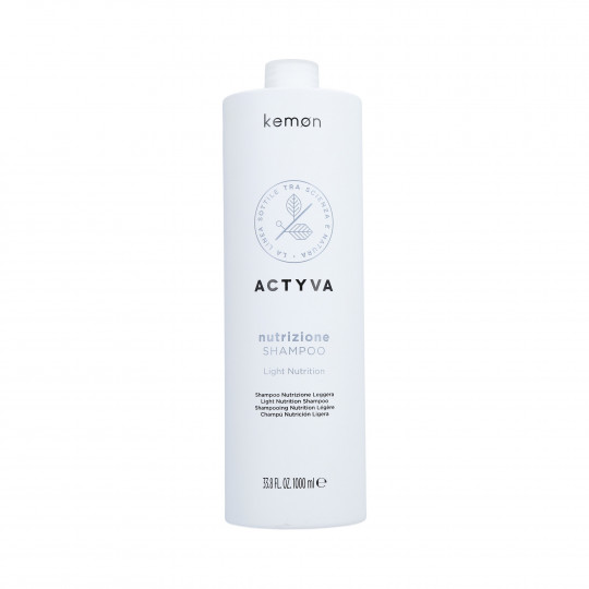 KEMON ACTYVA NUTRIZIONE Champú cabello seco 1000ml - 1