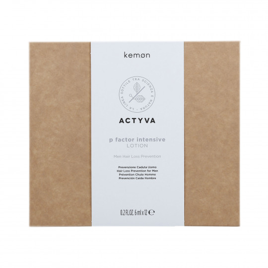KEMON ACTYVA P FACTOR Tratamiento masculino anticaída 12x6ml - 1