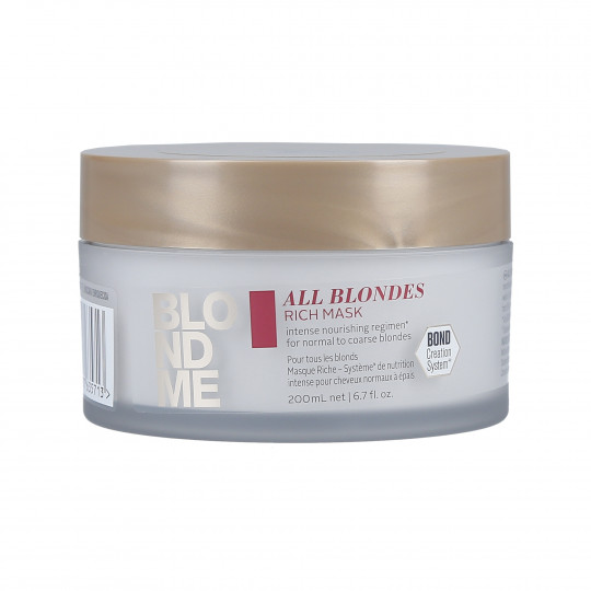 BLONDE ME ALL BLONDE RICH MASK 200ML