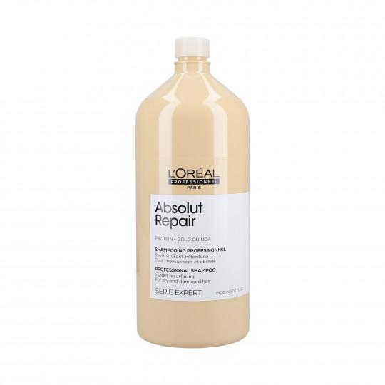 L'OREAL PROFESSIONNEL ABSOLUT REPAIR Gold Quinoa+Protein Champú regenerador 1500ml