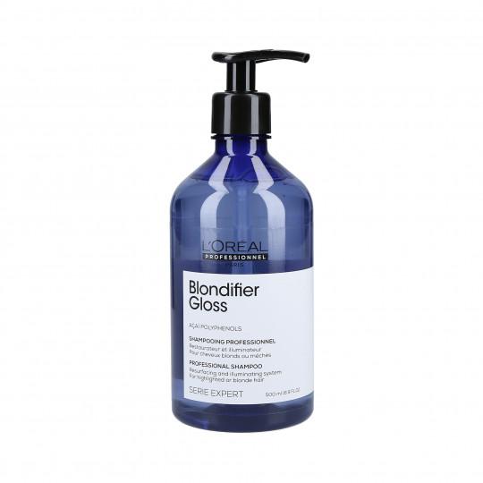 L'OREAL PROFESSIONNEL BLONDIFIER GLOSS Champú para el cabello rubio 500ml