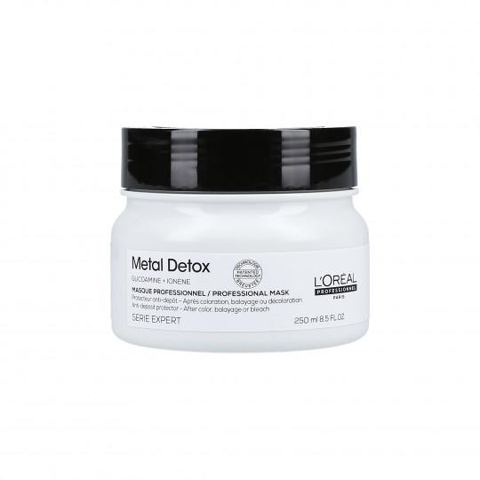L'OREAL PROFESSIONNEL METAL DETOX Mascarilla cabello teñido 250ml - 1