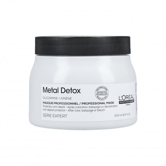 L'OREAL PROFESSIONNEL METAL DETOX Mascarilla cabello teñido 500ml - 1