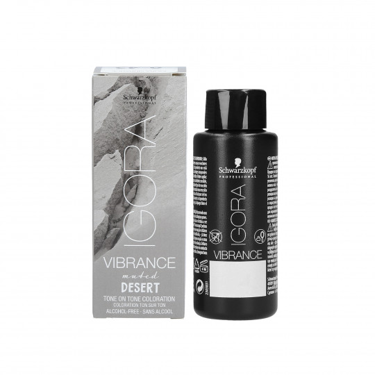 SCHWARZKOPF PROFESSIONAL IGORA Vibrance Muted Desert Tinte semipermanente sin amoniaco 60ml - 1
