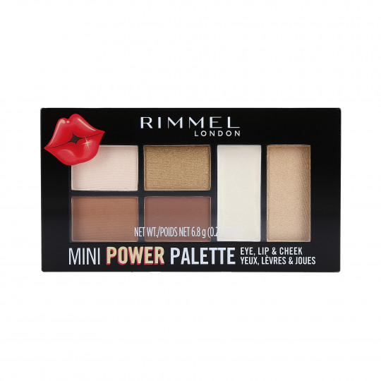 RIMMEL MINI POWER PALETTE 001 FEARLESS 6,8G