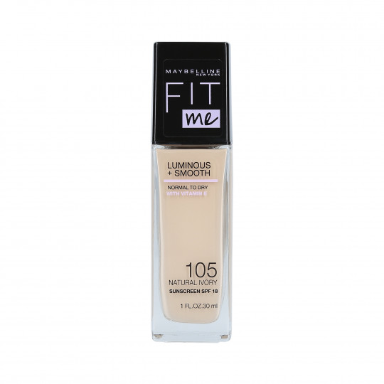 FIT ME L&S FOUNDATION 105 NATURAL IVORY 30ML