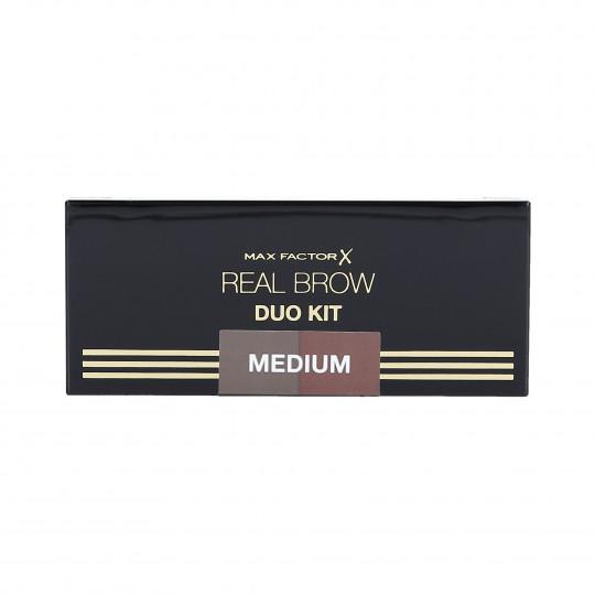 REAL BROW DUO KIT 02 MEDIUM