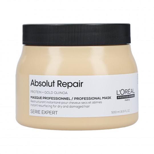 L'OREAL PROFESSIONNEL ABSOLUT REPAIR Gold Quinoa+Protein Mascarilla regeneradora de oro 500ml