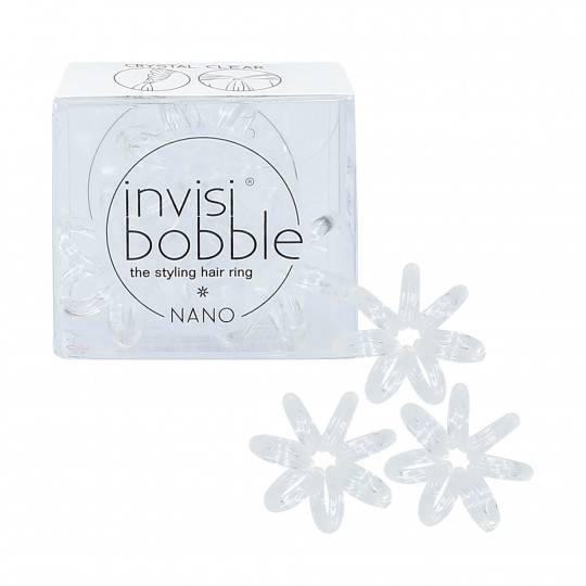 Invisibobble Nano Coleteros Crystal Clear 3 uds. - 1