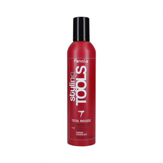 FANOLA STYL TOOLS EXTRA STRONG TOTAL MOUSSE 400ML